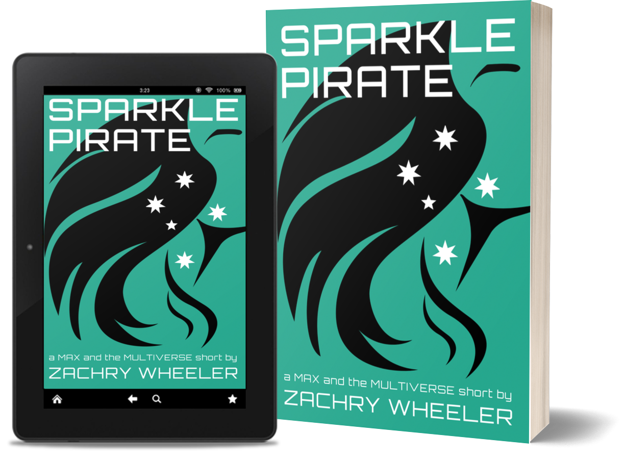 Sparkle Pirate by Zachry Wheeler
