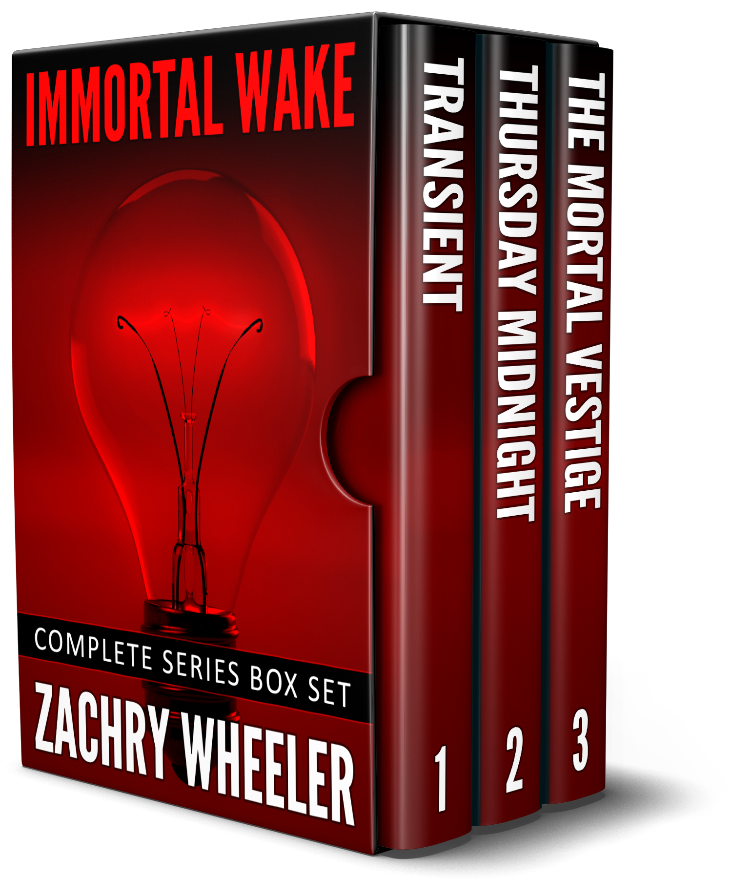 Immortal Wake Box Set by Zachry Wheeler