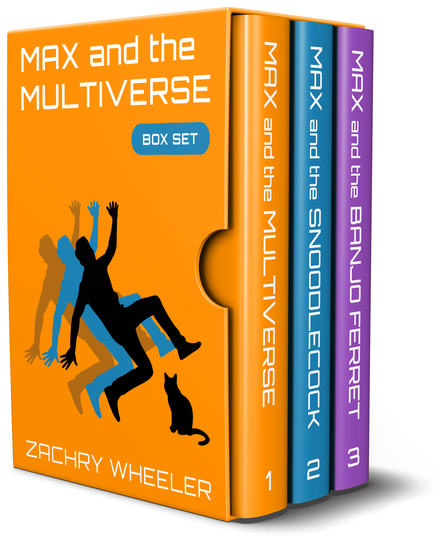 Max and the Multiverse Box Set by Zachry Wheeler