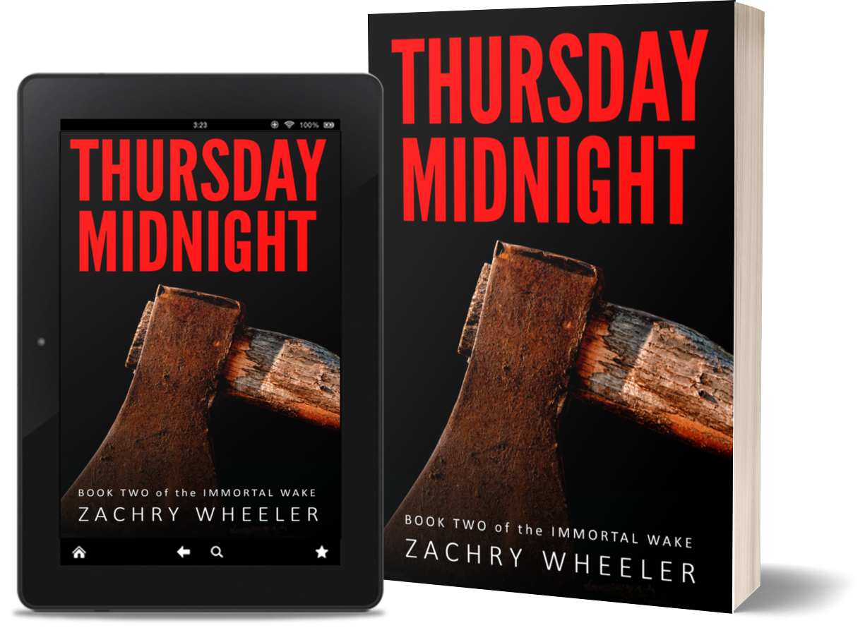 Thursday Midnight is available on Kindle and Amazon