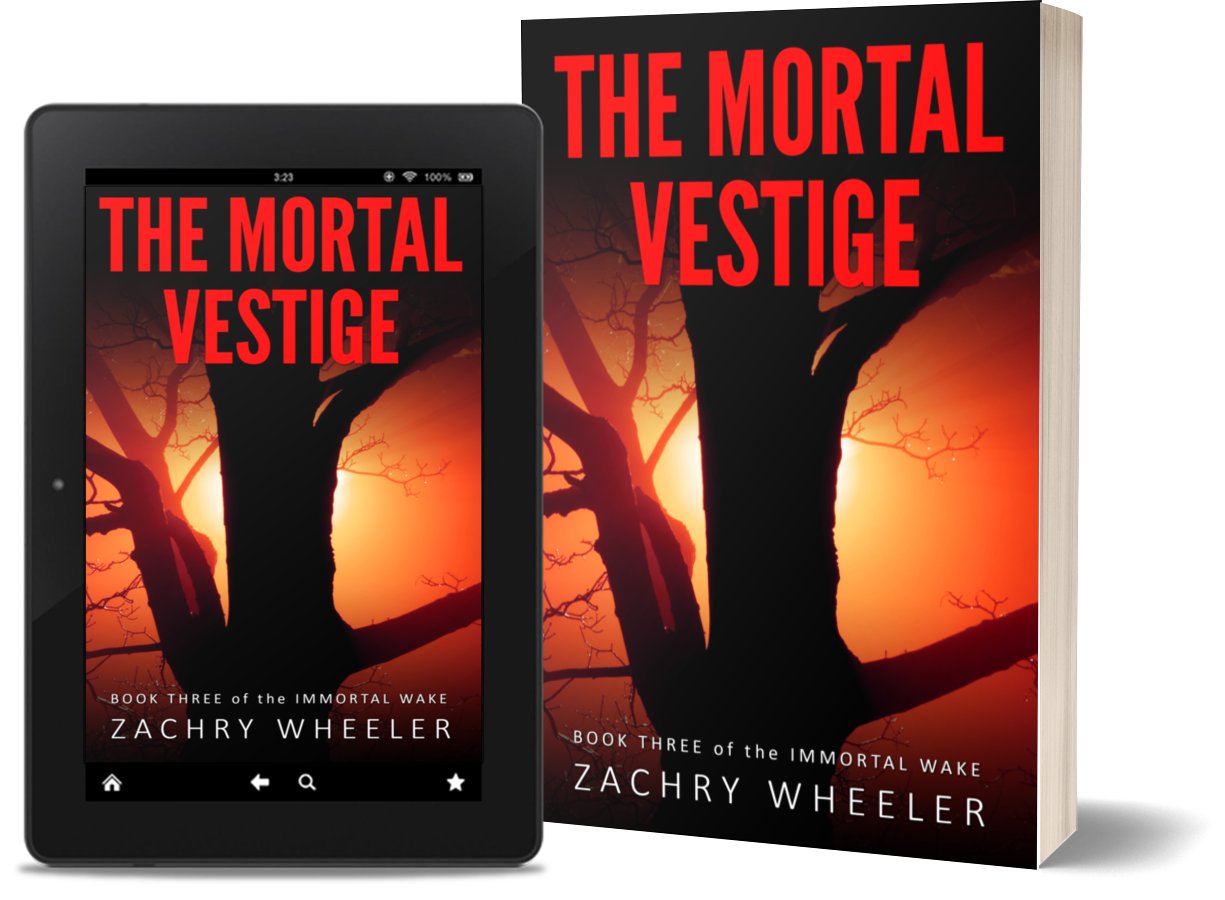 The Mortal Vestige is available at most major retailers