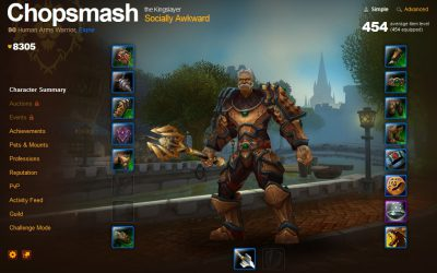 Chops, Azeroth, and the Housing Bust