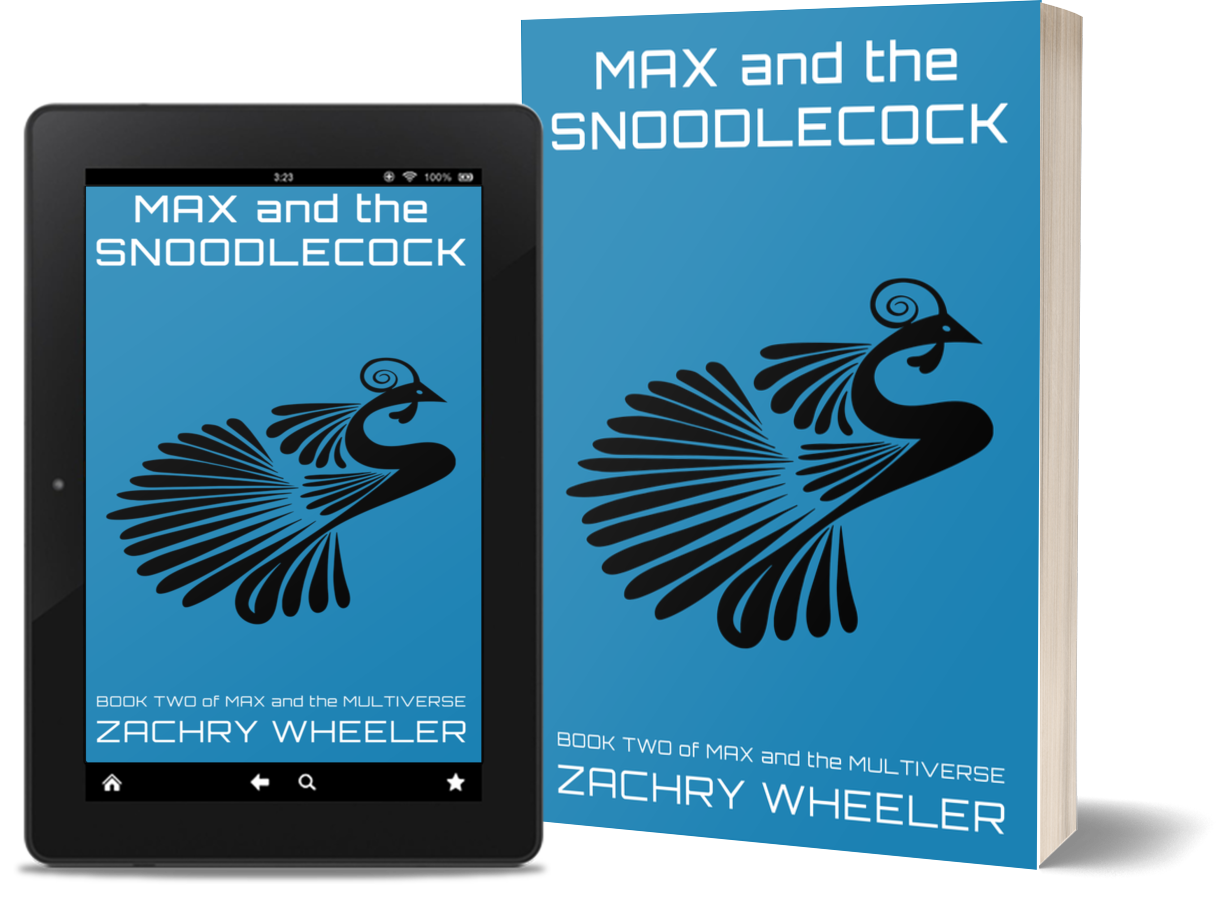 Max and the Snoodlecock is available on Kindle and Amazon