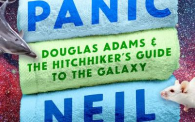 Zeedub Reviews: Don't Panic (Douglas Adams & The Hitchhiker's Guide to the Galaxy) by Neil Gaiman