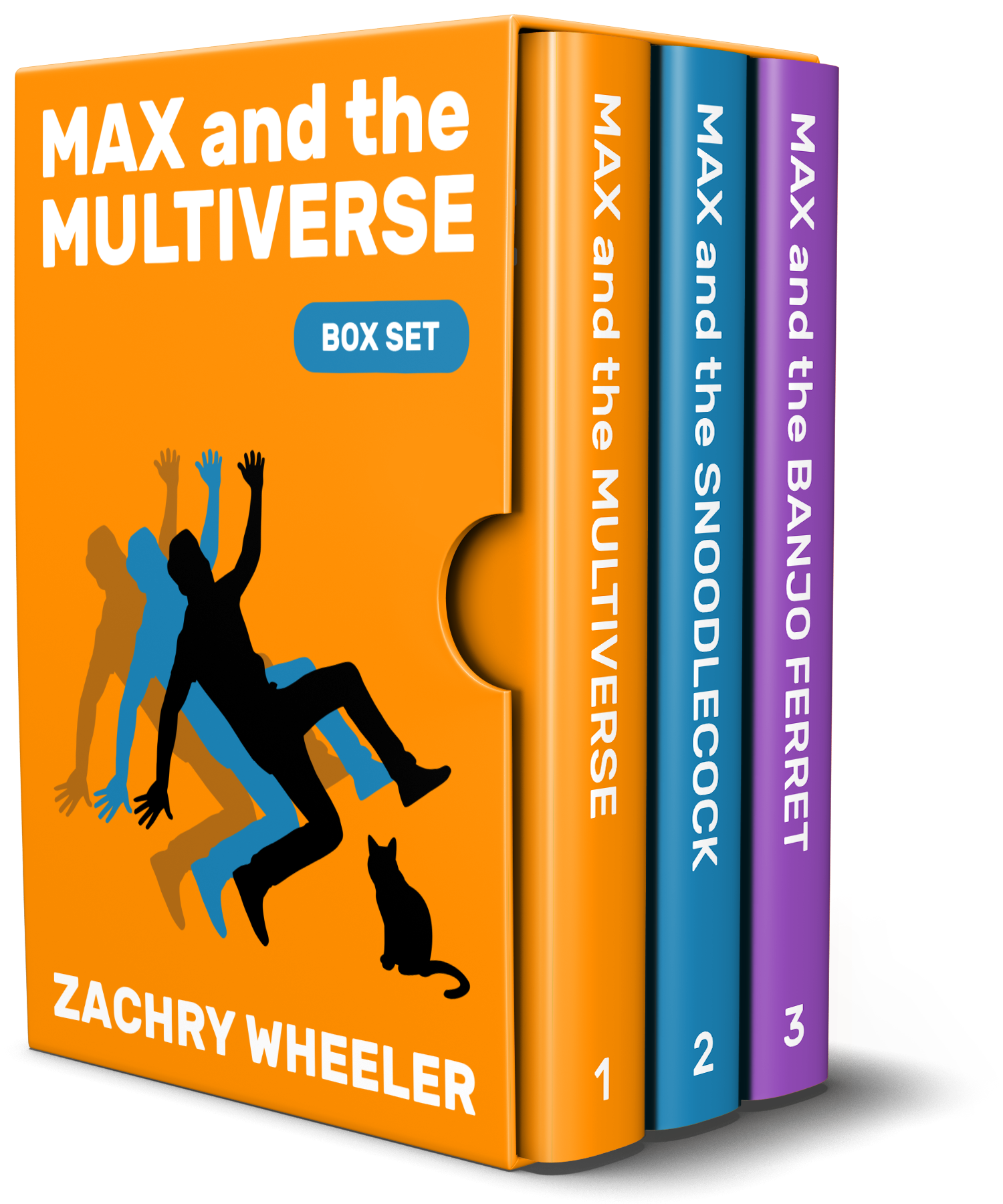 Learn more about the Max and the Multiverse Box Set (3 Books, 3 Shorts)