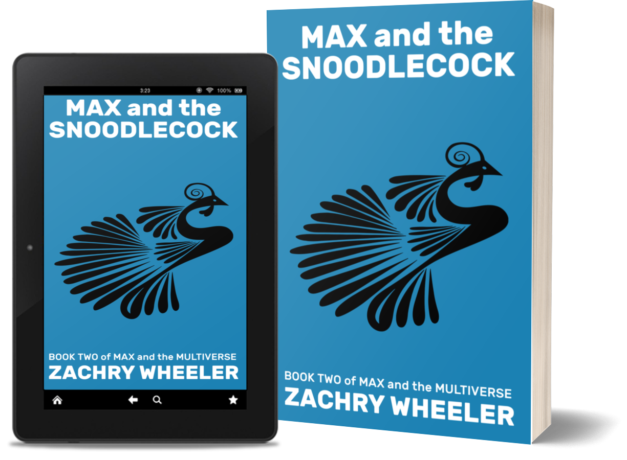 Max and the Snoodlecock is available at most major retailers