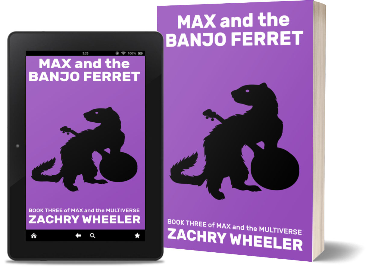 Max and the Banjo Ferret is available at most major retailers