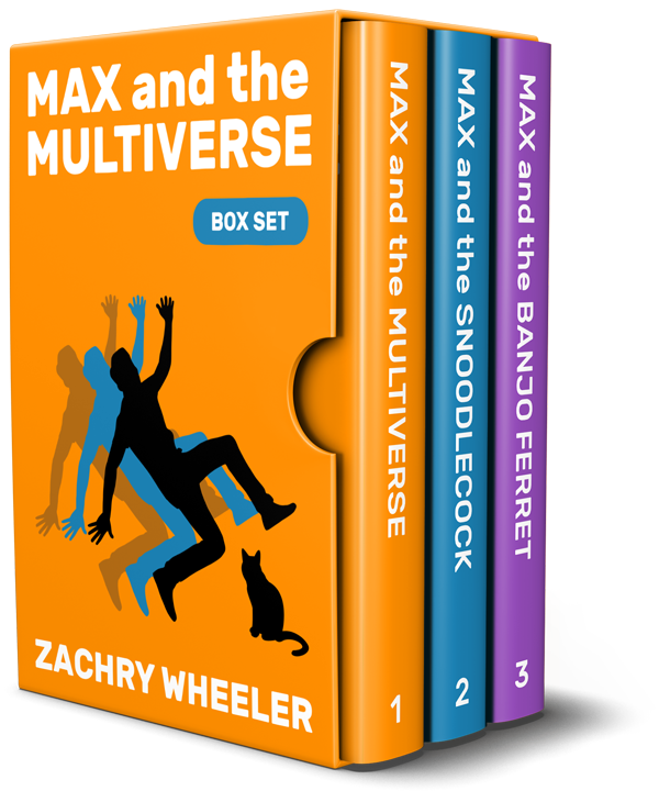 Max and the Multiverse Box Set (3 Books, 3 Shorts)